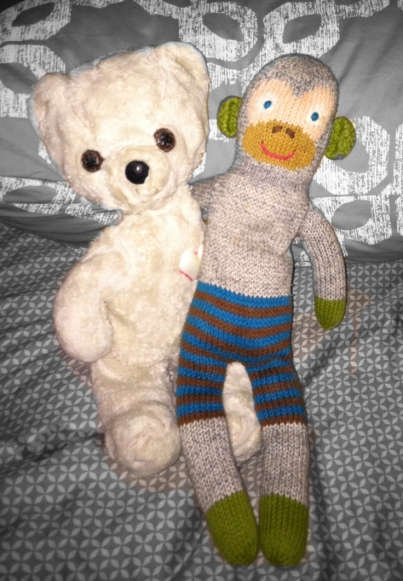 Beary and Miller's Monkey - Best Friends!